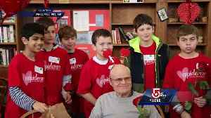News video: 5 For Good: Red Sox, Cupid crew spread love on Valentine's Day