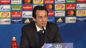News video: PSG coach Emery critical of refereeing in Champions League loss