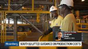News video: South32 Says Mining Costs Under Pressure From Rising Costs