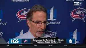 News video: Torts says next step for Columbus is to finish: 'I like the way we played'