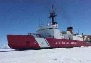 News video: U.S. Coast Guard Heavy Icebreaker Polar Star Arrives in Hobart After Antarctica Operation (File)