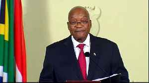 News video: Jacob Zuma resigns as South Africa's president
