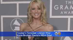News video: Porn Star Stormy Daniels Says She Feels Free To Discuss Trump Encounter