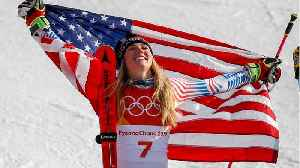News video: American Mikaela Shiffrin Wins Second Career Gold