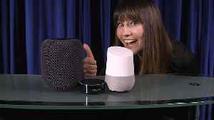 News video: Apple HomePod, Amazon Echo and Google Home talk in an infinite loop
