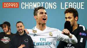 News video: Ronaldo Makes UCL History as Real Madrid Smash PSG | Champions League Show