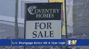News video: US Mortgage Rates Climb To A Nearly 4-Year Peak