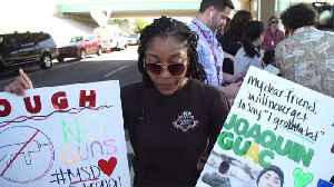 News video: Parkland students and teachers direct grief and rage at Washington