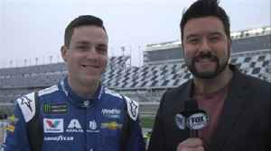 News video: Pole sitter Alex Bowman all smiles before Daytona 500