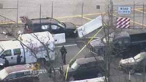 News video: 2 Freed After Shots Fired At SUV In NSA Campus Confrontation