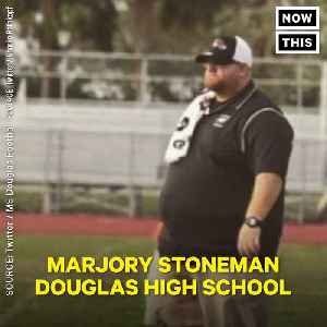 News video: Football Coach and Father Aaron Feis Died Shielding Students in Parkland Shooting
