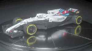 News video: Williams F1 give a glimpse of this season's car