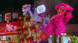 News video: People Welcome 'The Year of the Dog' in Lunar New Year Festivities