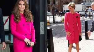 News video: 8 Times Kate Middleton and Princess Diana Were Style Twins