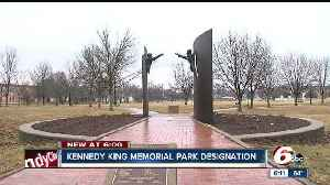 News video: Effort to designate Kennedy King Memorial Park a National Historic Site