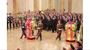 News video: Kim Jong Un visits father's mausoleum to mark 76th birth anniversary