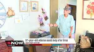 News video: World War II veteran gets eviction notice after FEMA rejects bid to help after Hurricane Irma