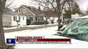 News video: Four found dead in Keego Harbor home in apparent murder-suicide