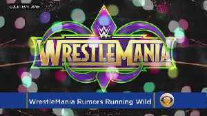 News video: WWE WrestleMania Card Rumors And PPV Changes