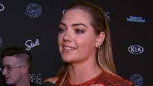 News video: Kate Upton Felt 'Very Lucky' After Getting Wiped Out by a Wave During 'Sports Illustrated' Shoot
