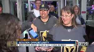 News video: Vegas Wish aims to get fans to Golden Knights games