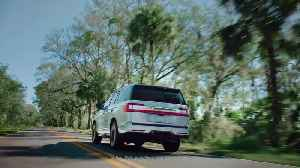 News video: All-new Lincoln Navigator - Serena Williams and Ginger