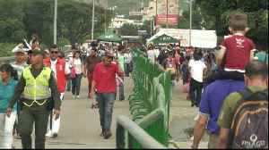 News video: Venezuelans flee to Colombia amid crisis at home