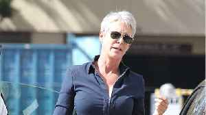 News video: Jamie Lee Curtis Finishes Filming New Halloween Movie