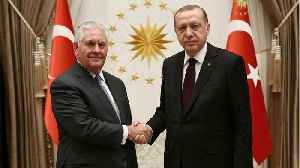 News video: Tillerson Meeting With Turkey's Erdogan Expected To Be Tense