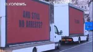 News video: Grenfell Tower activists organise 'Three Billboards' stunt in London