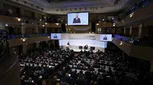 News video: Munich forum: Divided West undermines its own security