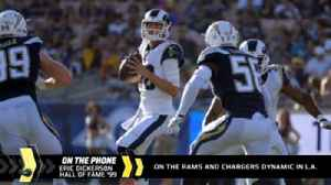 News video: Eric Dickerson on the Chargers-Rams dynamic in LA
