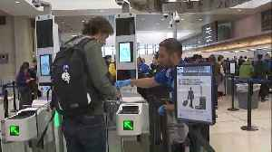 News video: New Facial Recognition Technology Being Used at Los Angeles Airport