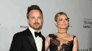 News video: Aaron Paul's Baby Daughter's Unique Name Revealed