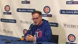 News video: Joe Maddon on innings for the Cubs' rotation