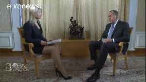 News video: Sergey Lavrov on Russian-US relations and the Middle East