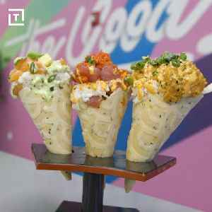 News video: These Cones Are Piled High With Poke