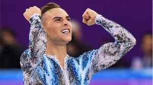 News video: Britney Spears just tweeted at Adam Rippon, and this is officially the best Olympics ever