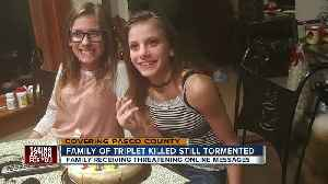 News video: Facebook harassment continues for family of girl killed in crash