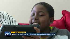 News video: Student inspires schools to look at new ways to celebrate Bl