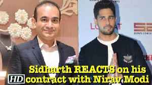 News video: Sidharth REACTS on his contract with Nirav Modi | PNB SCAM