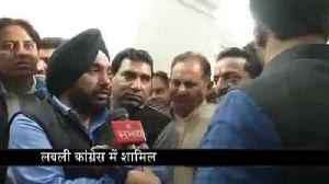 News video: Special talks with Arvinder Singh Lovely on rejoined Congress