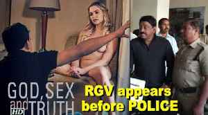 News video: NUDITY brings Ram Gopal Varma before POLICE