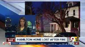 News video: Hamilton firefighters search burning house for man who wasn't there