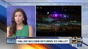 News video: Fallen soldier returns to the Valley