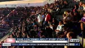 News video: Fans concerned about steep seats at T-Mobile Arena