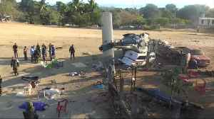 News video: Helicopter crash kills 13 in Mexico