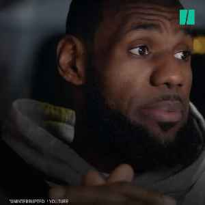 News video: LeBron James Slams Trump