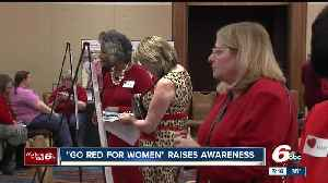 News video: Go Red for Women Luncheon raises awareness of risk factors of heart disease