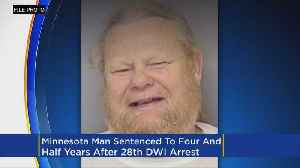 Minnesota Man Gets 4.5 Years For 28th DWI [Video]